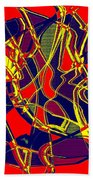 1010 Abstract Thought Beach Towel