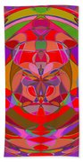 1015 Abstract Thought Beach Towel
