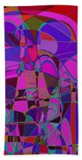 1016 Abstract Thought Beach Towel