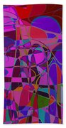 1017 Abstract Thought Beach Towel