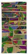 1023 Abstract Thought Beach Towel