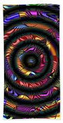 1043 Abstract Thought Beach Towel