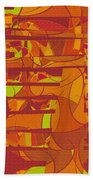 1045 Abstract Thought Beach Towel