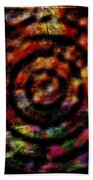 1066 Abstract Thought Beach Sheet