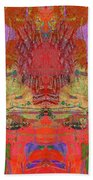 1074 Abstract Thought Beach Towel