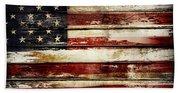 American Flag 33 Beach Towel