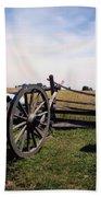 10th Mass Battery - Gettysburg Beach Towel