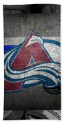 Colorado Avalanche Beach Towel