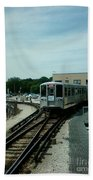 Cta's Retired 2200-series Railcar Beach Towel