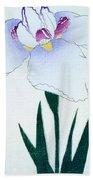 Japanese Flower Beach Towel