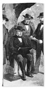 Jefferson Davis (1808-1889) Beach Towel