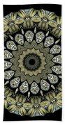 Kaleidoscope Ernst Haeckl Sea Life Series Beach Towel