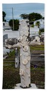 Key West Cemetery Beach Towel