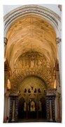 Mezquita Cathedral Interior In Cordoba Beach Towel