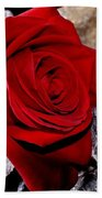 Red Rose Beach Towel