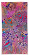 1106 Abstract Thought Beach Towel