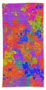 1115 Abstract Thought Beach Towel