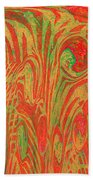 1133 Abstract Thought Beach Towel