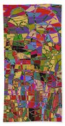 1144 Abstract Thought Beach Towel