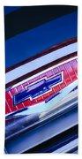 Chevrolet Grille Emblem Beach Sheet