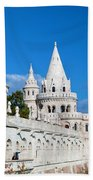 Fisherman's Bastion In Budapest Beach Towel