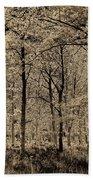Forest Art Beach Towel