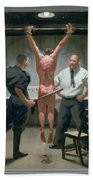 12. Jesus Is Beaten / From The Passion Of Christ - A Gay Vision Beach Sheet