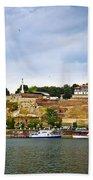 Kalemegdan Fortress In Belgrade Beach Towel
