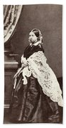 Queen Victoria (1819-1901) Beach Towel