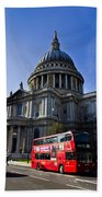 St Paul's Cathedral London Beach Towel