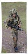 Welsh Guards Training Beach Sheet