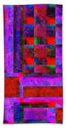 1227 Abstract Thought Beach Towel
