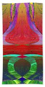 1232 Abstract Thought Beach Towel