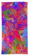 1248 Abstract Thought Beach Towel