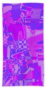 1250 Abstract Thought Beach Towel