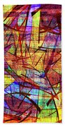 1261 Abstract Thought Beach Towel