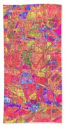 1262 Abstract Thought Beach Towel
