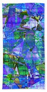 1289 Abstract Thought Beach Towel