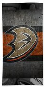 Anaheim Ducks Beach Towel