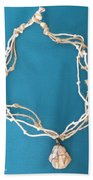 Aphrodite Urania Necklace Beach Towel by Augusta Stylianou