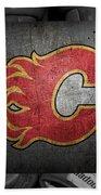 Calgary Flames Beach Towel