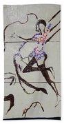 Dinka Dance - South Sudan Beach Towel