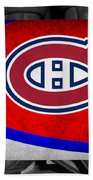 Montreal Canadiens Beach Towel