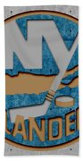 New York Islanders Beach Towel