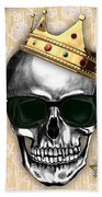 Skull Art Collection Beach Towel