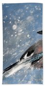 The Wintery Tales  Beach Towel