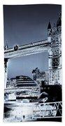 Tower Bridge Art Beach Towel
