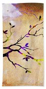 Tree Branch Collection Beach Towel