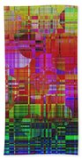 1300 Abstract Thought Beach Towel