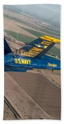 Blue Angel Beach Towel